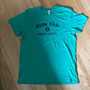 Run Far, Drink Local MN shirt